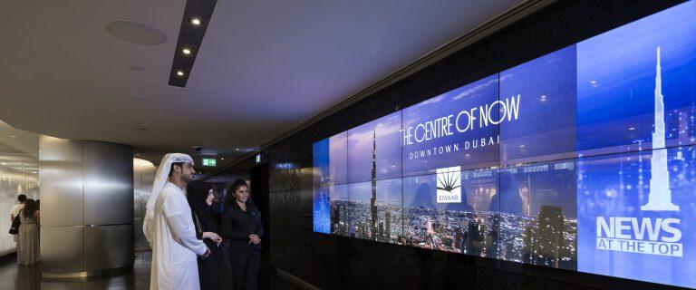 Solotech - Burj Khalifa - At the top observation decks