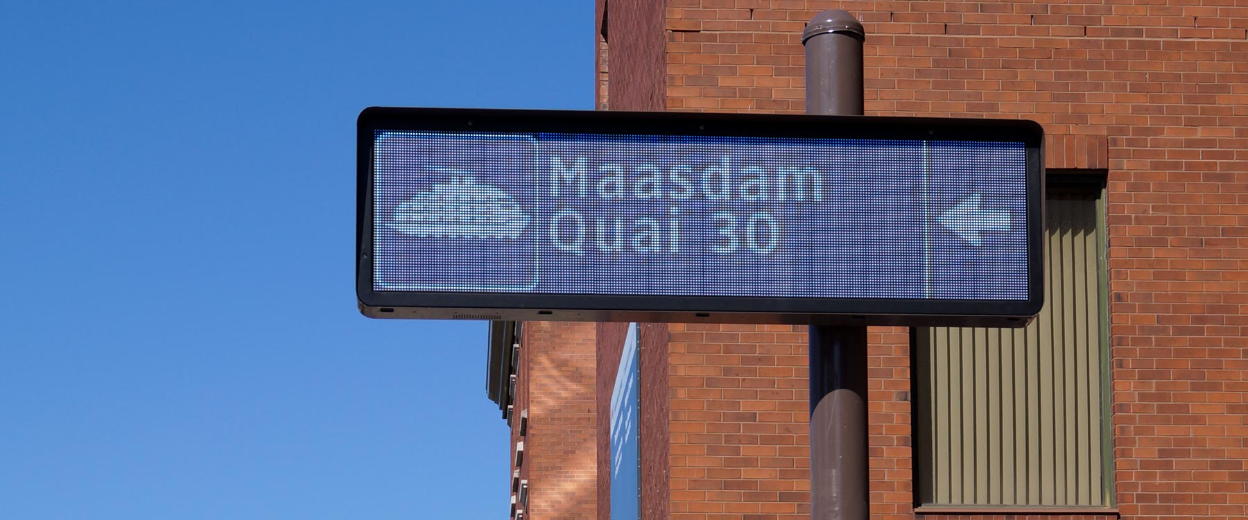 Solotech - Electronic Traffic Sign of Quebec City