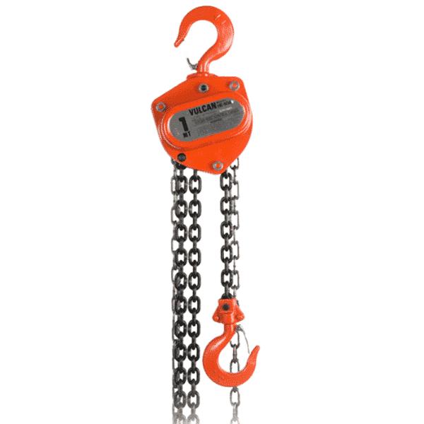 VULCAN HOIST, COMETC, manual chain hoist 1 ton 040 '